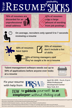 Infographic Ideas infographic yourself : How To Pitch Yourself to an Employer Without Striking Out: Running ...
