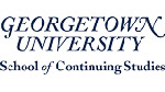 Georgetown Master's in Public Relations & Corporate Communications (logo)