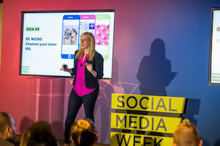 Stephanie Meyers [tom legoff/social media week]